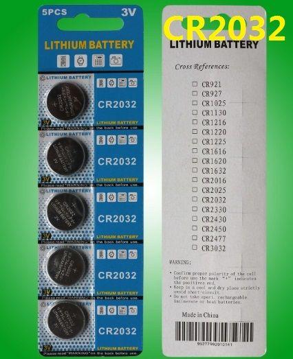 PROT 400 блистерной карты CR2032 литиевые монеты для монетных батарей для светодиодных фонарей игрушки PCB калькуляторы