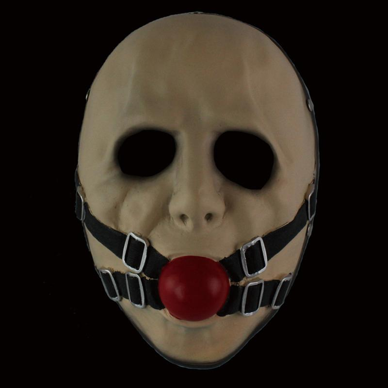 Payday 2 Resin Scary Mask Clown Temperament and interest Masks For Ball  Prom Halloween Costume Cosply Masquerade 2colors Available