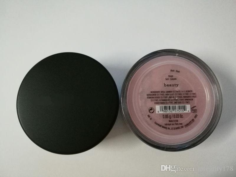 2017 NEWEST Minerals Foundation loose powder, blush beauty / warmth / MATTE fairly light 03/ warmth with face DHL