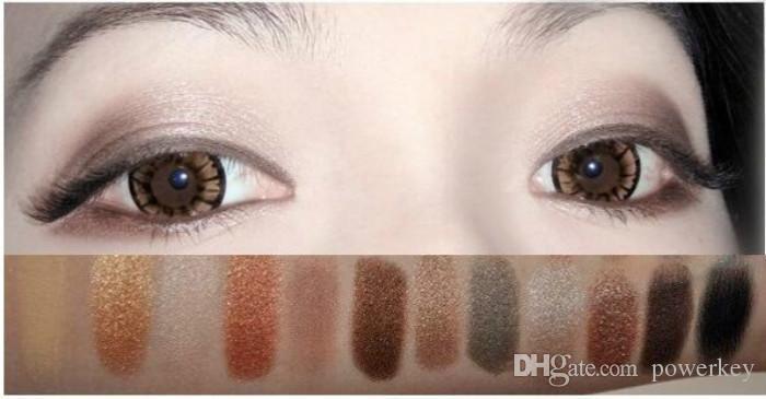 Nuovo trucco fumoso di arrivo NO: 1/2/3 palette i Matte Natual eyeshadow Cosmetici Nave libera
