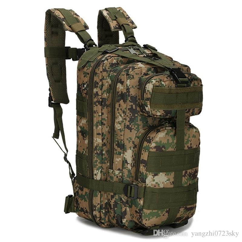 DHL 30L Men Women Outdoor Travel Backpack Military Army Sport ...