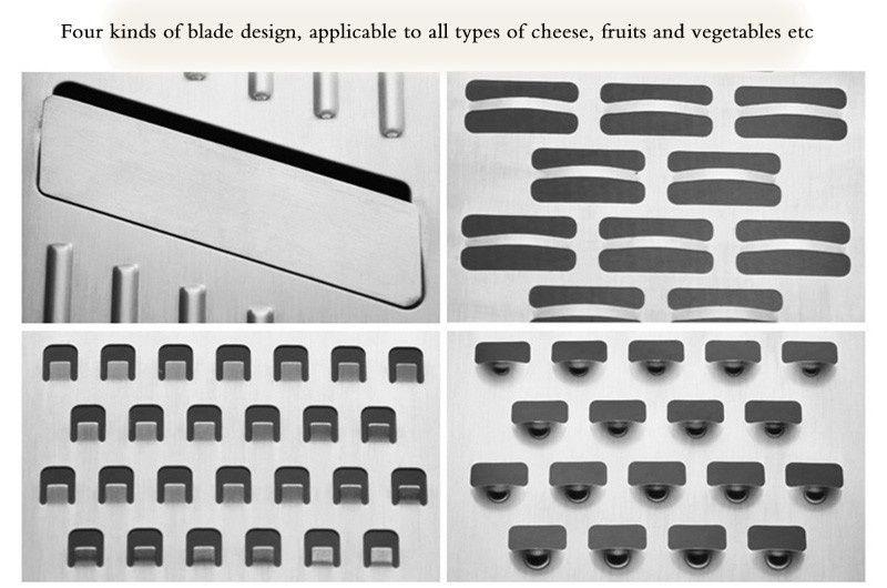 2016 acero caliente saleStainless cozinha COCINA accesorios herramientas policía de la manzana vegetal cepilladora trituradora de cocina cocina de cuatro dimensiones del dispositivo