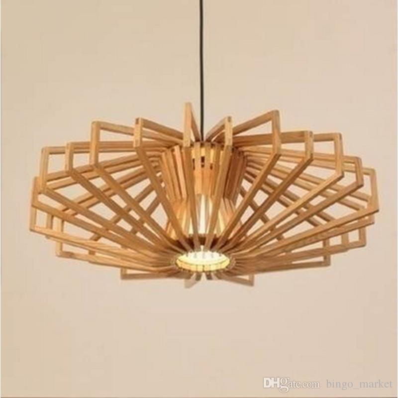 Discount Retro Modern Handmade Diy Wood Led Pinecone Pendant Lights Home Restaurant Hanging Pine Cone Wood Pendant L&s Home Decorative Light Island ... & Discount Retro Modern Handmade Diy Wood Led Pinecone Pendant ... azcodes.com