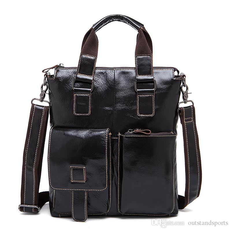 Cow leather day bag 259 Top layer cow leather one shoulder diagonal vertical handbag OEM available