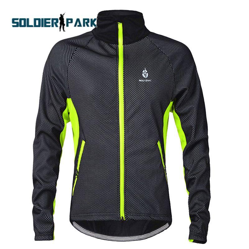 Winter Windproof Waterproof Thermal Jersey Waterproof Professional Bike  Bicycle Clothing MTB Mountain Warm Sports Jersey Green Order≪ 18no T  Bicycle Shorts ... b76a61bd6