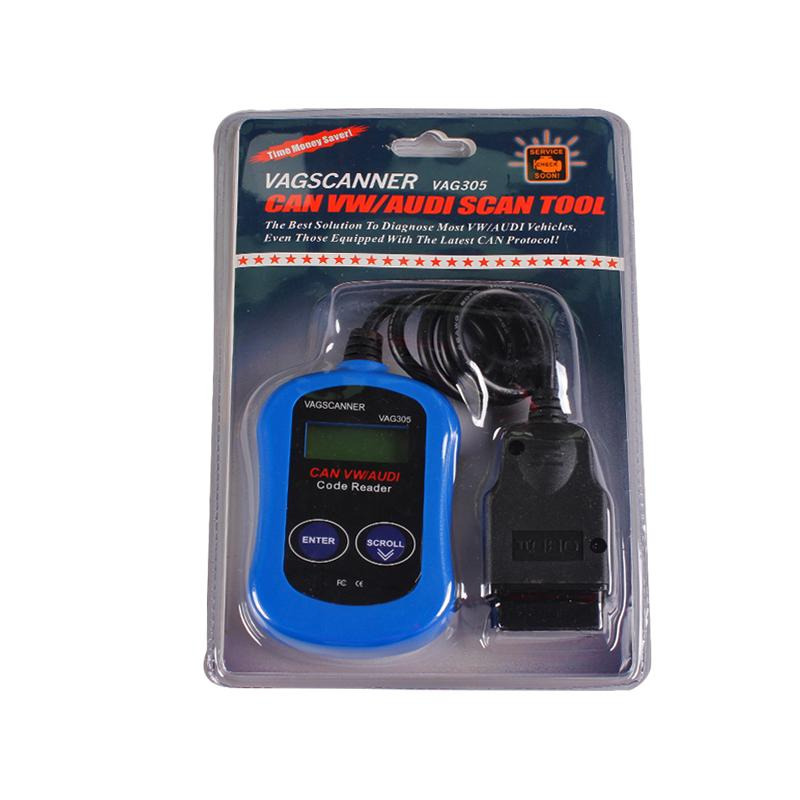 Car Diagnostic scan Tool OBD2 OBD II VAG305 Code Reader vag 305 Auto Scanner in good price For VW ,Audi