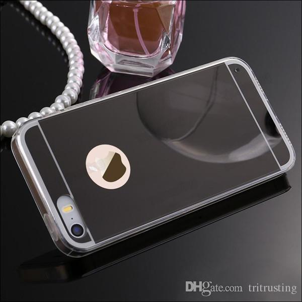 Coque de protection en aluminium pour boîtier de protection en aluminium ultra-mince avec cadre en métal pour iPhone 7 SE 6 6S Plus 5S Note de bord pour Samsung Galaxy S7 S6 5 7 MQ50