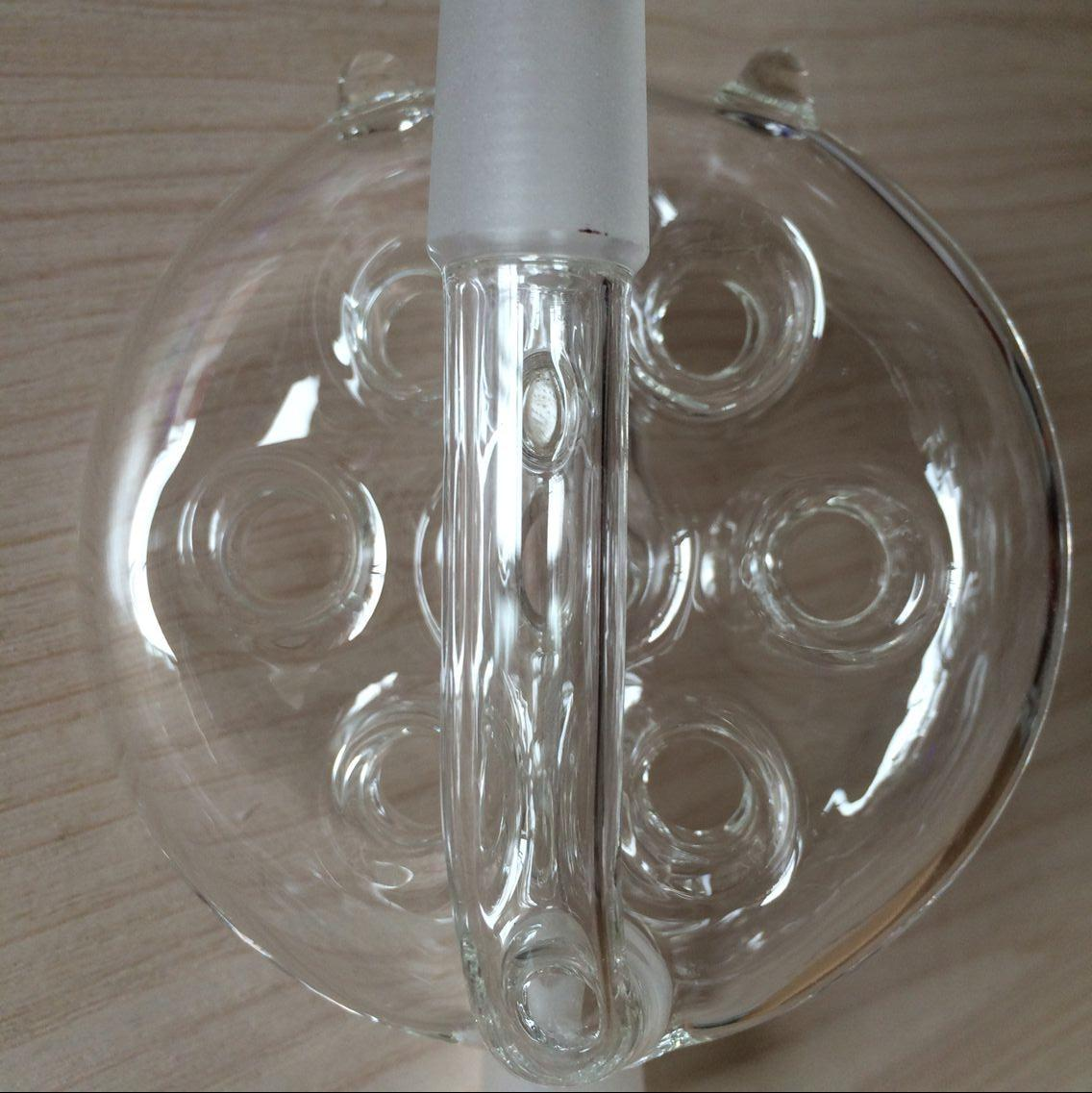 10 styles Glass Bongs Ash Catcher 14.4mm to 18.8mm male to female Glass Bong Percolator 18mm to 14mm female to male