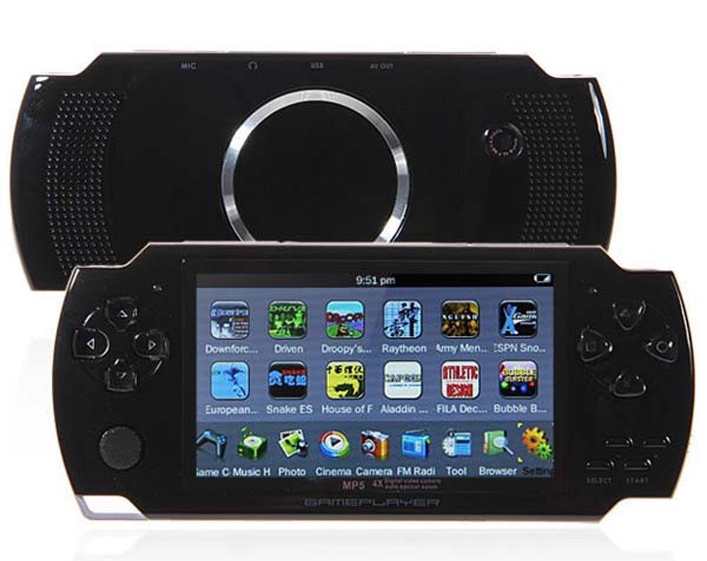 16GB 4.3 بوصة وشاشة LCD MP3 MP4 MP5 PMP لاعب + لعبة + كاميرا + TV OUT + وحدة تحكم لعبة في علبة هدية الكتاب الإلكتروني FM صور فيديو لاعب لعبة R-826