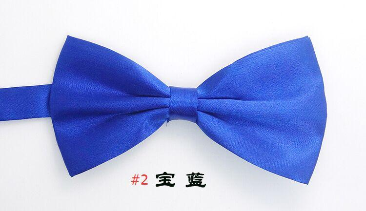 Fliege der Männer 25 Farben 12 * 6cm Stellen Sie die Schnalle einfarbig Bowknot Berufsbowtie für Vatertagsbindung Weihnachtsgeschenk ein freies Verschiffen