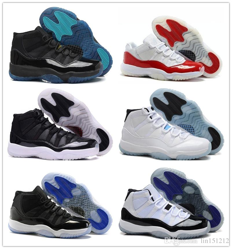 Discount New 11 White Citrus Concord Bred Legend Air Blue Gamma Blue XI  Basketball Shoes Mens Women S 11s GS Sneakers Low Top Basketball Shoes  Kevin Durant ... 0434c9c96c