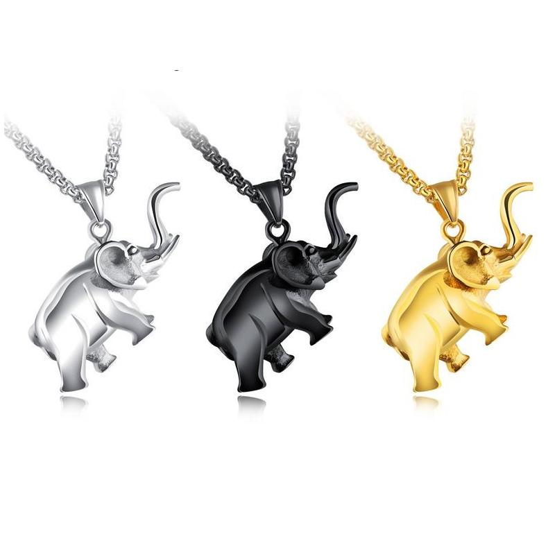 Wholesale new brand silvergold elephant pendant accessories pendant wholesale new brand silvergold elephant pendant accessories pendant necklace jewerly gift for friend or girl necklace for menwomen silver chain silver aloadofball Choice Image