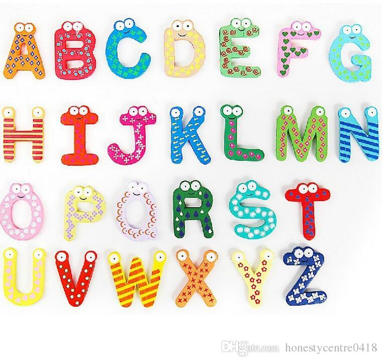 colorful cartoon design letters refrigerator fridge magnets education teaching alphabet kids toys fridge magnets letters magnets refrigerator magnets online
