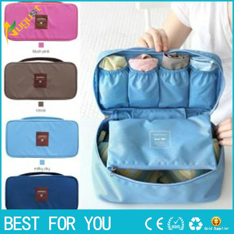2019 Bra Underwear Lingerie Travel Bag For Women Organizer Trip