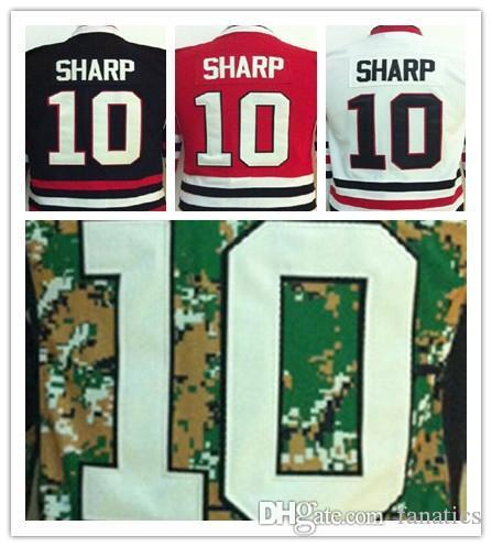 finest selection 99b89 bf7c4 2016 Chicago Blackhawk 10 Patrick Sharp Youth Jersey High Quality 100%  Stitched Kids Jersey Size S,M,L,XL For China