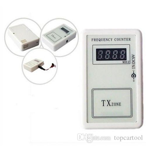 XQCarRepair 250-450MHZ car key remote control Frequency Tester Wireless auto door radio transmitter Frequency Meter Counter