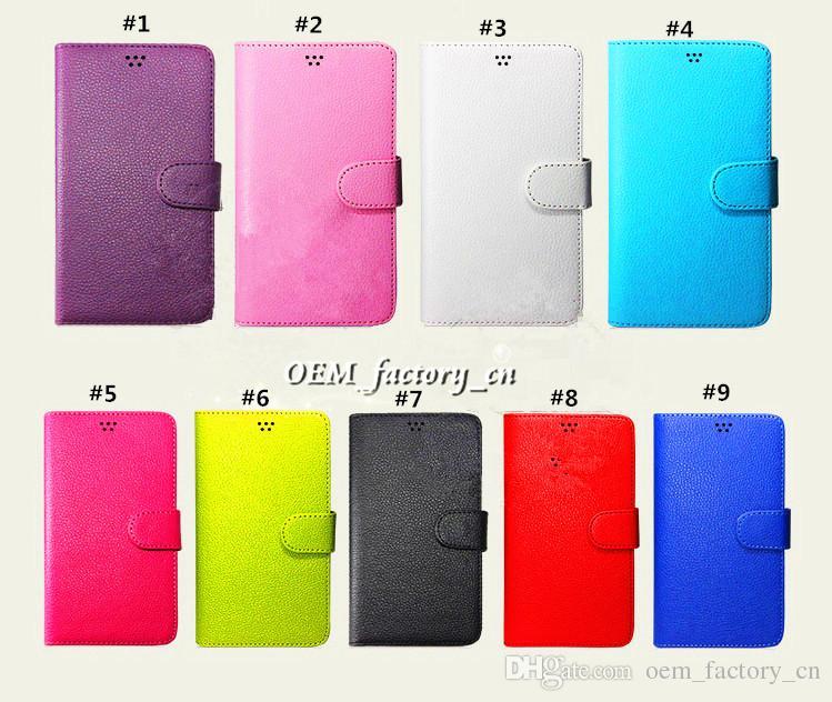 Galaxy S8 için Evrensel Cüzdan PU Kapak Kılıf Kredi Kartı Yuvası Tutucu Folio Kapak için 3.5 4.7 5.5 5.7 iPhone 7 Samsung LG Huawei ZTE