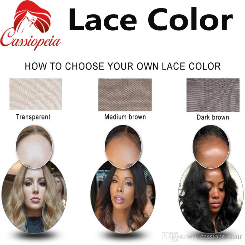 Silky Straight Full Lace Wigs With Bang Indian Remy Virgin Human Hair Glueless Lace Front Hair Wigs With Baby hair For Black Women