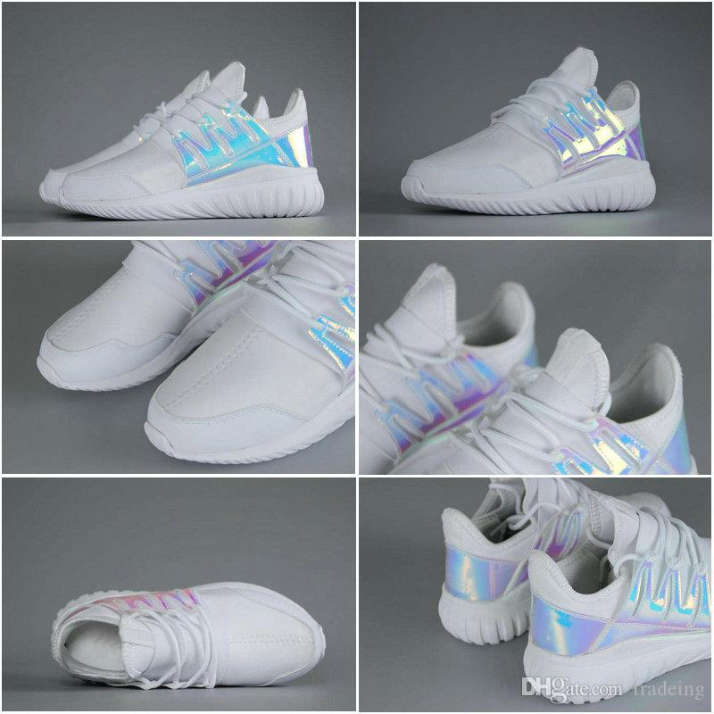 reputable site 19429 a0460 ... top quality online cheap drop shipping cheap famous original tubular  radial iridescent white aq6281 womens mens