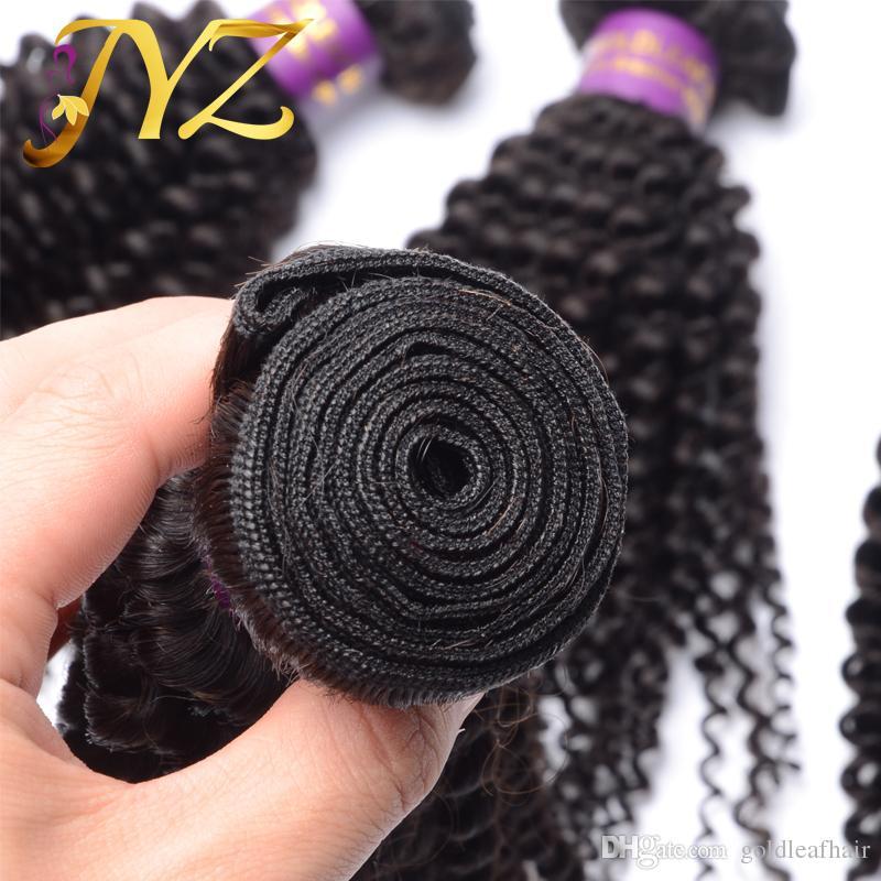 Caldo!! Pacchetto brasiliano dei capelli umani del pacco dei capelli umani ricci crespi del peruviano del pacchetto dei pacchi del fascio del pacco brasiliano dei capelli trasporto libero