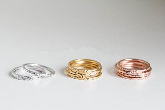 Hot new contracted style ring ring wholesale gold-plated silver plating rose gold plating, gave her best gift selling products