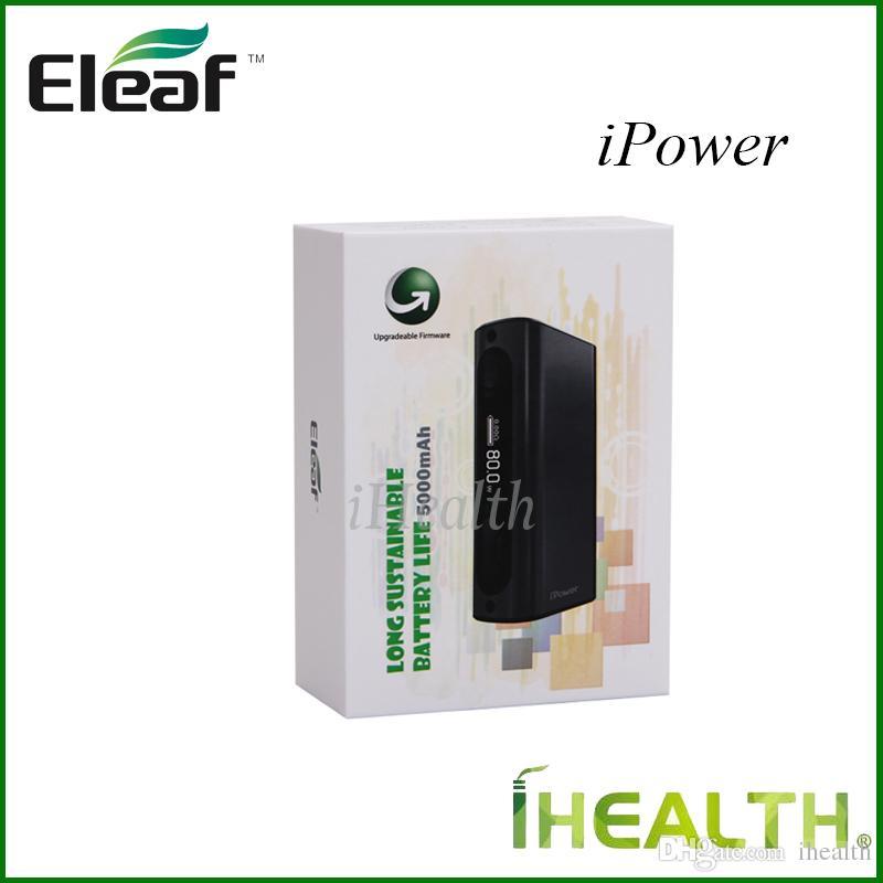 Eleaf Istick Power 80w TC Mod 5000mah Bbuilt-in Battery VW/Bypass/Smart/TC modes 510 Thread 100% Original Eleaf iPower 80w Kit