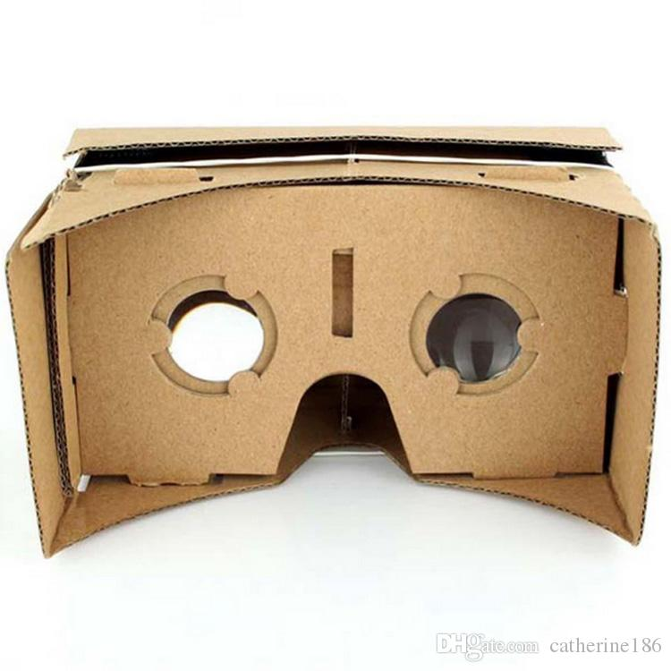 VR BOX Google Cardboard VR DIY Paper 3D Virtual Reality Glasses For IPhone 6 6s For Samsung S6 S7 Edge Android & iOS Smartphone