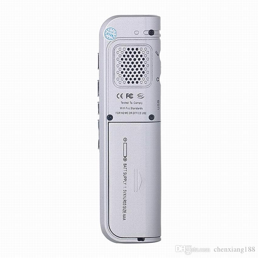 16GB USB VOR Rechargeable Digital Audio Voice Recorder Pen Metal case Dictaphone Telephone voice record MP3 Player