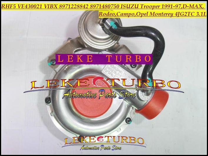 RHF5 VE430021 VIBX 8971228842 8971480750 ISUZU Trooper 1991-97,D-MAX,Rodeo,Campo,OPEL Monterey 4JG2TC 3.1L turbocharger (2)