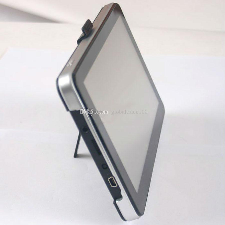 7 tums GPS-bilnavigering med Bluetooth AV Navigator DDR256MB + 4GB 8GB MTK Win CE CE Flerspråkig GRATIS Multi-Country MP