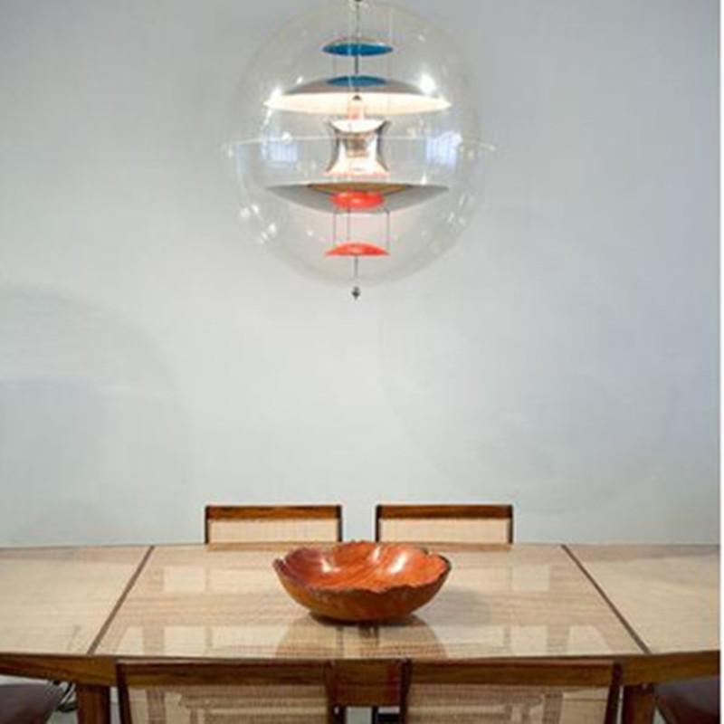 Entwurf Von Verner Panton, 1969. Optionen: Lampe: GU10 LED Beleuchtung:  Eine 3 Watt 120/240 Volt GU10 Base LED Lampe (im Lieferumfang Enthalten).