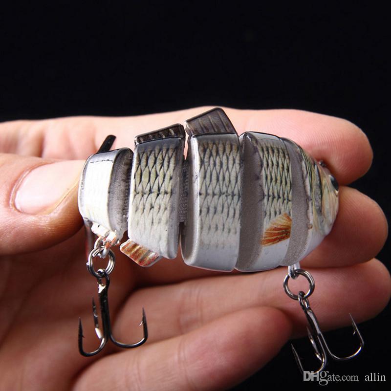 Drop Shipping New Minnow Angelköder Crank Bait Haken Bass Crankbaits Tackle Sinking Popper Hochwertige Angelköder