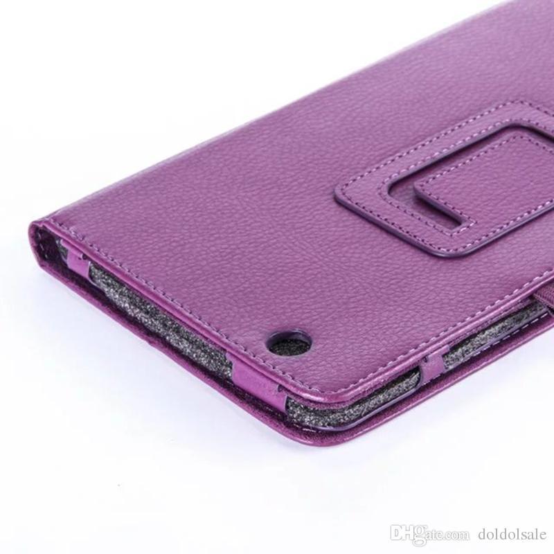 50 adet İş PU Deri Kılıf Kapak için LG G Pad X 8.0 V525 V521WG 8 inç Tablet + Ekran Koruyucu Film + Stylus Kalem