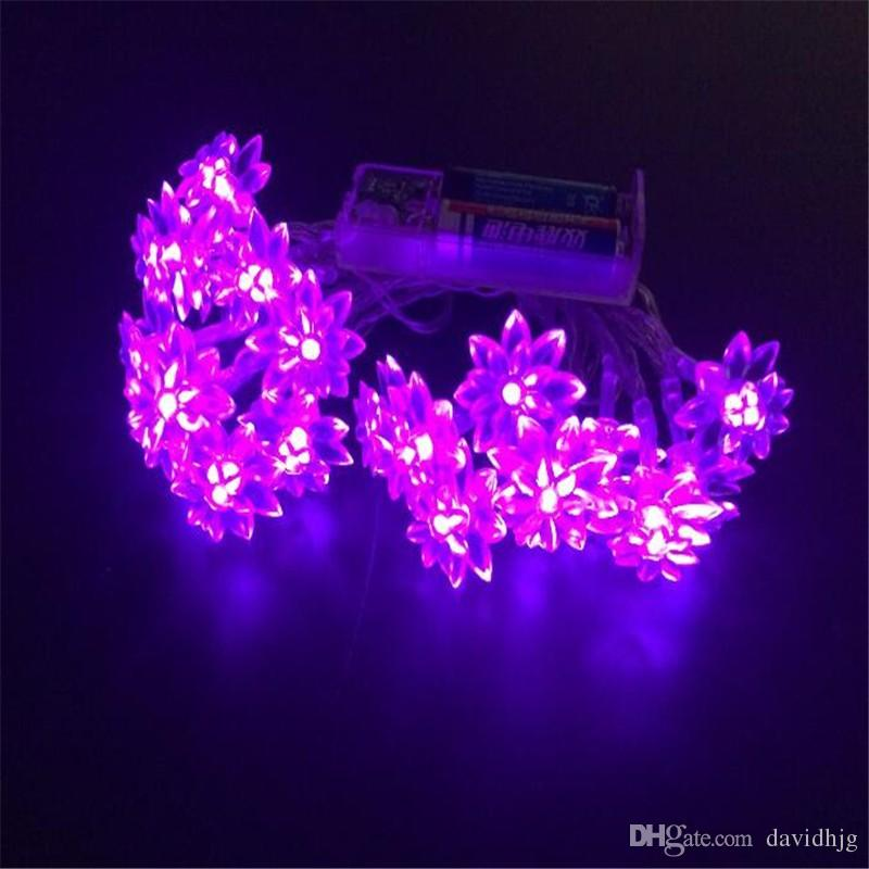 20 led string lights battery operated christmas fairy lights warm white lutos flower decorative indoor outdoor tree party patio led lights christmas lights