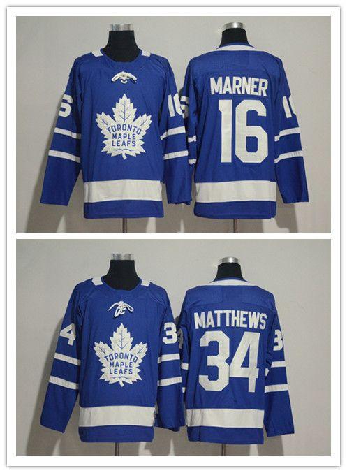 feabc2c76 News Stitched Adlads Toronto Maple Leafs Blank  16 MARNER  34 ...