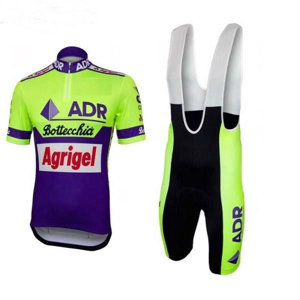 4fea16b10 2018 ADR AGRIGEL BOTTECCHIA Pro Team Shirt Wanty Summer Mens Cycling ...