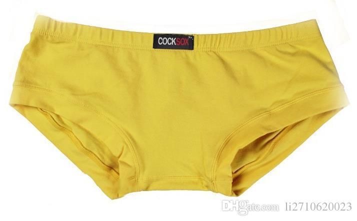 COCKSOX Hot Sexy Men Cotton Low Waist Mens Boxers Sexy New Style Men Underwear Cueca Gay Underpants Boxer shorts Briefs