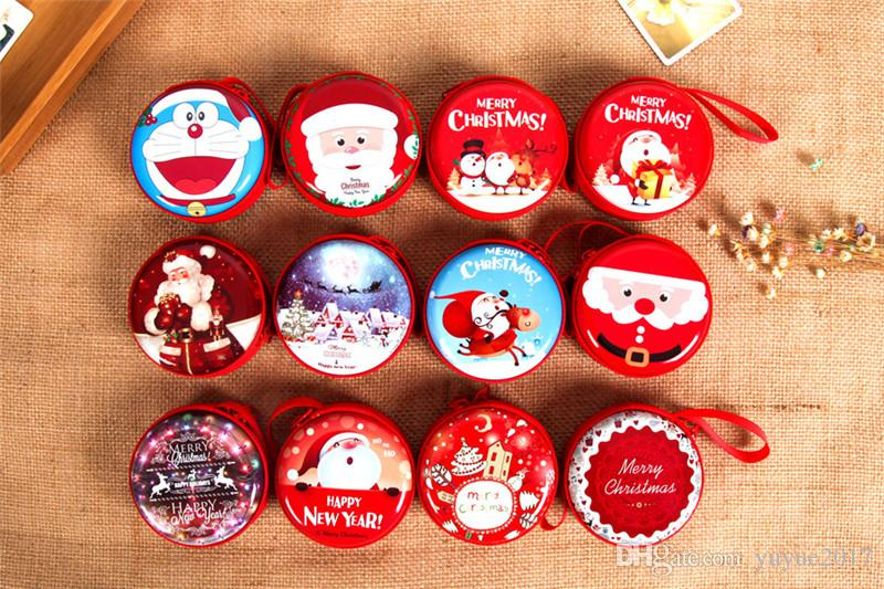 Hot 2017 Children\'S Christmas Gift Candy Boxes And Zero Wallets ...