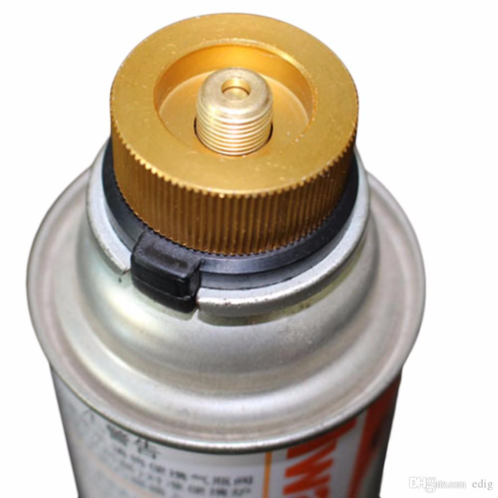 Aluminum Split Type Camping Stove Auto-off Tank Adapter Conversion Connector