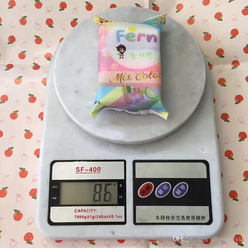 Llenado OMO White Plus Soap fruitamin soap Mix Color Plus Five White White Skin 100% Gluta Rainbow Soap