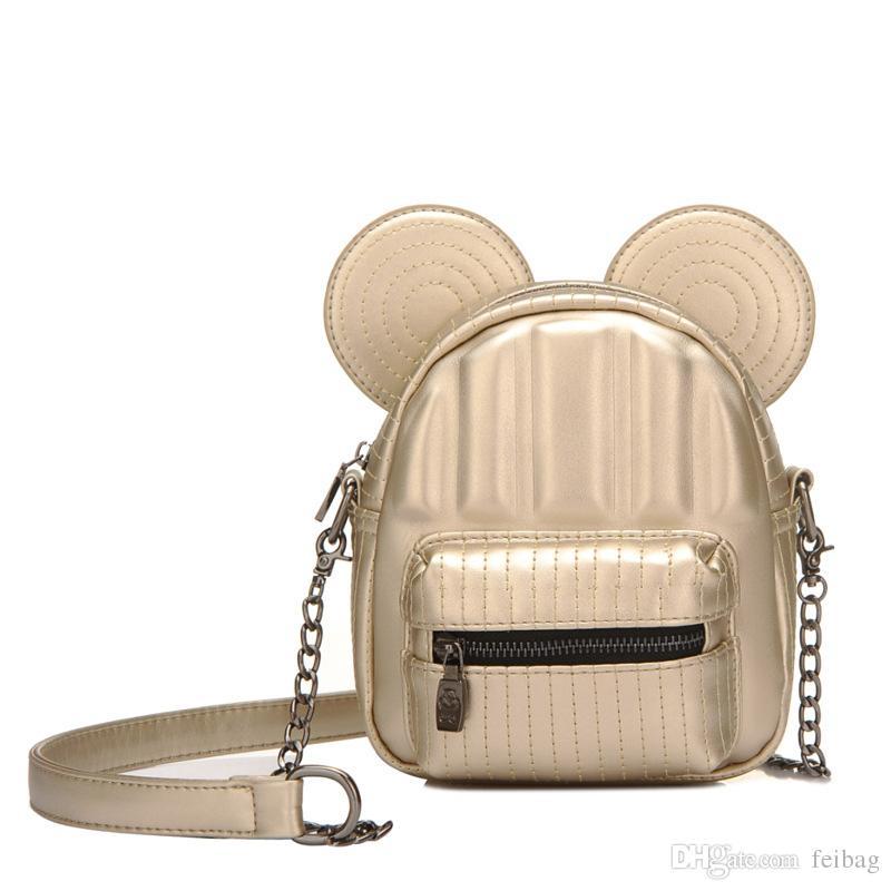 Compre Bolsa De La Cadena De Mickey Mouse Color De Moda Linda De La ...