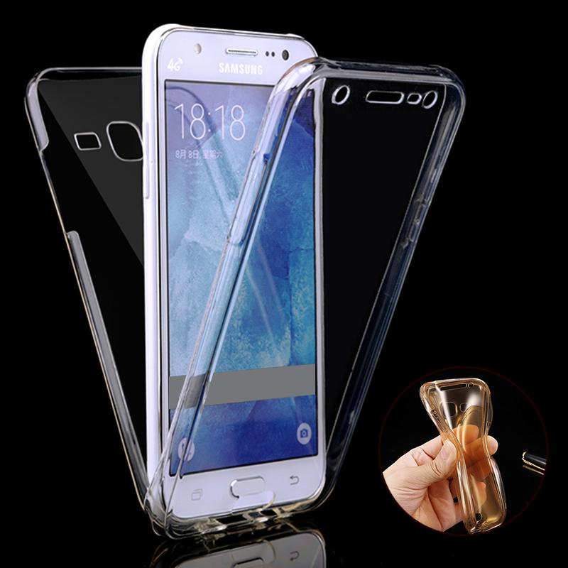 info for 2780d 6c686 For Samsung Galaxy J1 J2 J3 J5 J7 A3 A5 A7 2015 2016 Case SLIM Clear TPU  Soft Gel Silicon 360 Full Body Protect Phone Cover