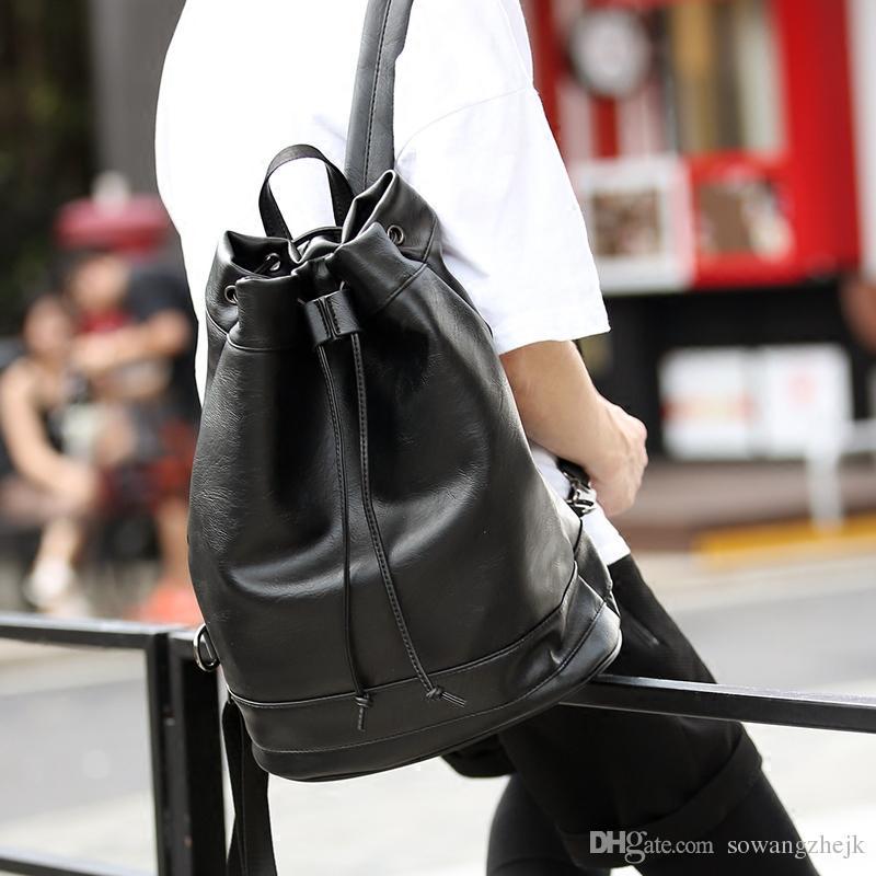 قدرة كبيرة على غرار المصمم الشهير عالية الجودة الرجال على ظهره حقيبة مدرسية طالب bookbag daypack الساخن بيع حقائب السفر