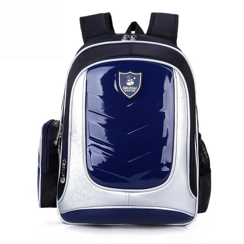 Boy Girl School Bags Leather Kids Backpack Orthopedic School Bags For Boys Girl  PU Waterproof Backpack Child Kids School Bag Boys Backpacks Laptop Rucksack  ... a877641585e69
