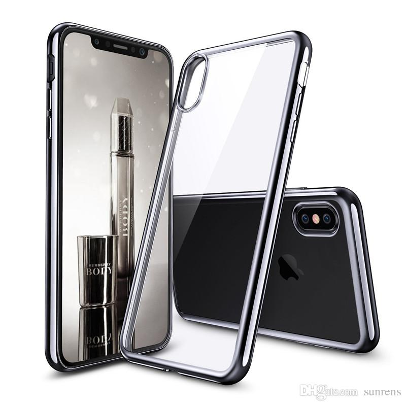 save off e917c fe748 Crystal Transparent Clear TPU Cover Shell for Iphone X Iphone 10 Cases  Flexible Skin Ultra Thin for Iphone5 7 8