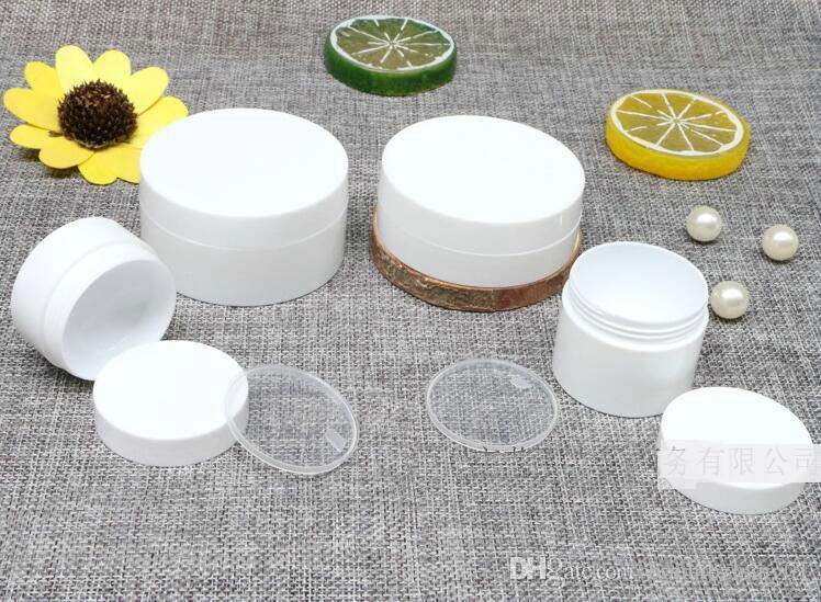 Refillable Bottles Travel Face Cream Lotion Cosmetic Container Plastic Empty Makeup Jar 10g20g/50g
