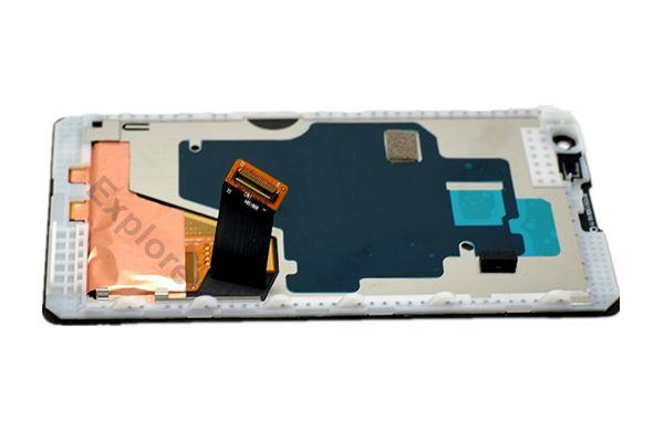 LCD tactile Displa assemblage Digitizer avec écran de cadre en verre trempé pour Nokia Lumia 1020 Assemblée LCD + Outils Test réussi
