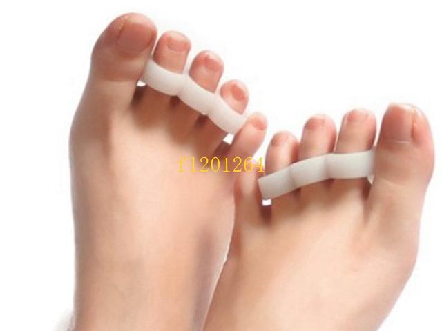 = 100 pares frete grátis separador de dedo do pé do dedo do pé do dedo do pé separador de dedo ferramentas ferramentas joanete pé hálux valgo