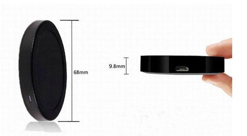 Melhor Preço de Fábrica Universal Qi Carregador Sem Fio de Carregamento Pad Kit para iPhone e para Samsung com Caixa de Varejo