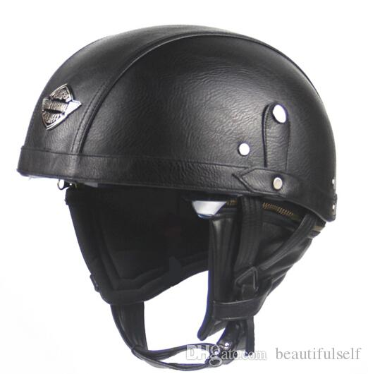 gro handel brand vintage helm retro motorrad helm chopper. Black Bedroom Furniture Sets. Home Design Ideas